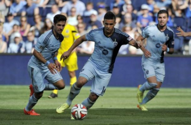 Sporting Kansas City striker Dom Dwyer has been one of MLS' top performers all throughout the season, and has 14 goals thus far. (Photo Credit: Dan Irwin/USA Today Sports)