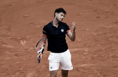 Thiem cayó derrotado por cuarta vez consecutiva en este inicio de temporada. Foto: Roland Garros.