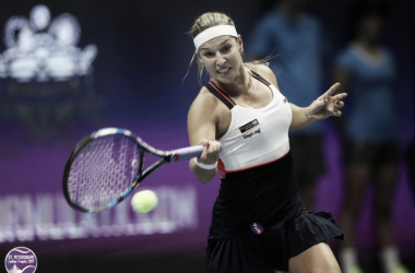 Dominika Cibulkova moves on to the semifinals | Photo: WTA St. Petersburg Ladies Trophy (Formula TX)