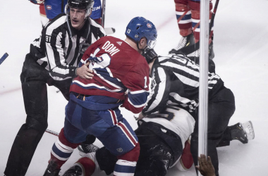 Max Domi is suspended for rest of preseason for match penalty. | Photo: Paul Chiasson/The Canadian Press
