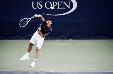 Dominic Thiem en US Open 2016. Foto: zimbio