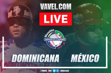 Resumen y carreras: República Dominicana 4 - 2 México en Serie del Caribe 2021