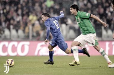 Carlos Tevez ha deciso la sfida del 24 agosto 2013. Foto: Twitter JuventusFC