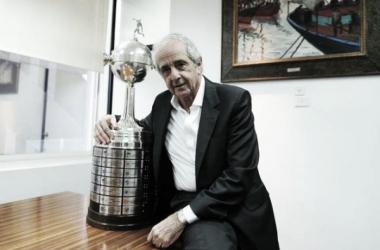 ¿Podrá D'onofrio cerrar (al menos) su primer mandato en River ganando por segunda vez la Copa Libertadores? (Foto: Olé)