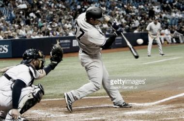 Solano batea su primer jonrón con los Yankees