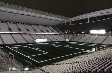 Neo Química Arena, sede de Corinthians x São Bento (SC Corinthians Paulista / Reprodução)