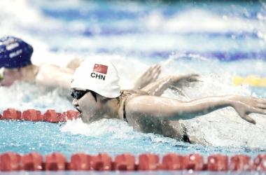 Competición de natación | Imagen: FINA