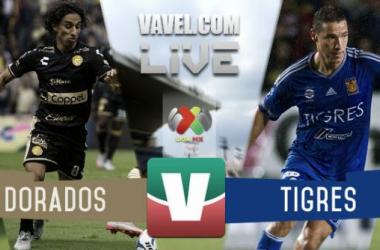 Resultado Dorados - Tigres en Liga MX 2015 (0-0)