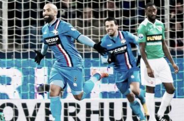 Samuel Armenteros anotó dos goles. (Foto: foxsports.nl)