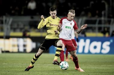 Dortmund venía de una victoria y Augsburg de una derrota | Foto: @BVB