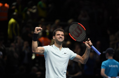 ATP Finals - Dimitrov passeggia contro Goffin