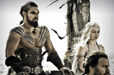 Khal Drogo y Khaleesi (Foto: how2becool.com)
