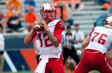 Brandon Doughty and Western Kentucky look to bounce back this weekend against Middle Tennessee (Bradley Leeb / AP Photo)
