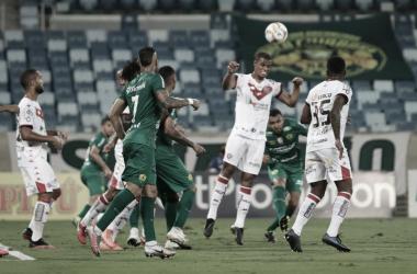 Em jogo de seis gols, Cuiabá e Vitória empatam na Série B
