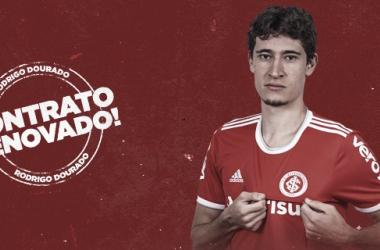 Rodrigo Dourado renova com Internacional até 2022