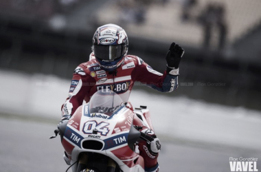 Andrea Dovizioso en pista. Foto: Marc González- VAVEL