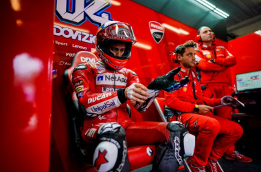 FP1: Andrea Dovizioso comienza mandando en Austria