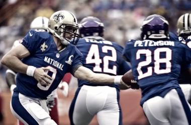 Drew Brees y Adrian Peterson jugarán juntos en los Saints Fuente: nfl.com