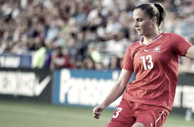 Ana-Maria Crnogorcevic will join Portland Thorns FC this season | Photo: (USA Today Sports Images)
