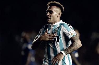 """Joia do Racing, Lautaro Martinez diz: """"Meu candidato para vencer a Copa do Mundo é a Argentina"""""""
