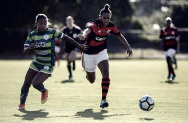 Flamengo mostrou raça para garantir o empate (Foto: Reprodução/Flamengo)