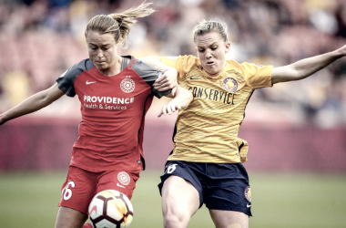 Utah Royals FC and Portland Thorns share the points | Photo: Adam Fondren, Deseret News