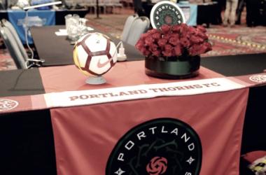 Portland Thorns draft table | Photo: ISI Photos
