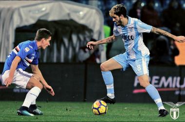 Serie A - La Lazio ribalta la Sampdoria nel finale: 1-2 al Ferraris (Fonte foto: Twitter Lazio)