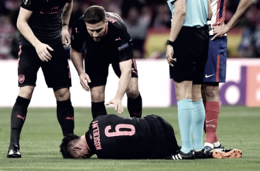 Koscielny seis meses'out'por lesión en el tendón de Aquiles