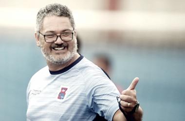 Micale acredita que elenco do Paraná pode permanecer na elite do Brasileirão (Albari Rosa /Paraná Clube)