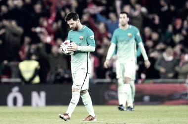 Il Barcellona fermato dal palo e da quella fastidiosa abitudine
