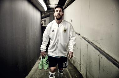 Fonte foto: Twitter Messi