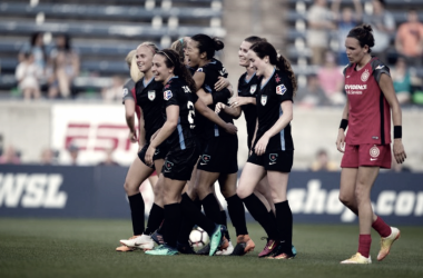 Chicago and Portland share the points in a Saturday night battle | Photo: Chicago Red Stars