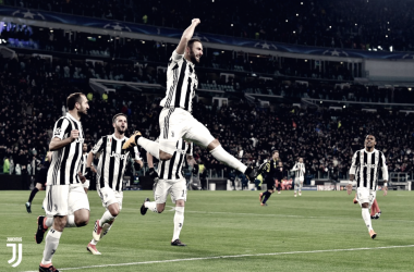 l'esultanza di higuain che torna in Nazionale (fonte foto Juventus Twitter)