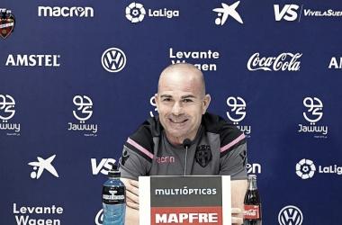 """Paco López: """"El peor partido desde que estoy en el Levante"""""""