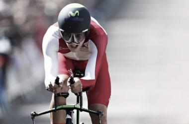 Alex Dowsett is a prolific time trialist. (Image: Peter Morrison/AP)