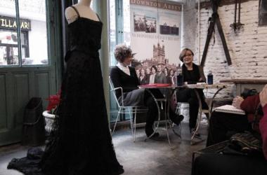 María Ortega y Diana Fernández, esta mañana en la charla. (Foto (sin efecto): zinkingOn).