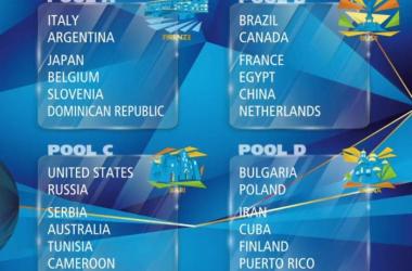 Volley - Mondiali 2018, il sorteggio