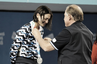 Buenos Aires 2018: Plata en Natación