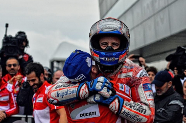 Tercepat di FP1, Dovizioso Berniat Tunda Pesta Kemenangan Marc Marquez