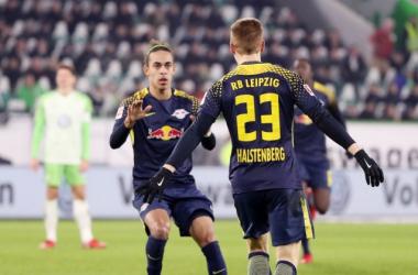 Bundesliga 2017/18 - 1-1 tra Wolfsburg e Lipsia. Vince l'Eintracht. Foto: Twitter Bundesliga English