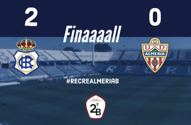 Resultado del partido | Fotografía: Real Club Recreativo De Huelva