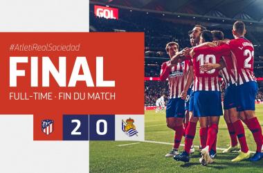 Liga Spagnola- Vola l'Atletico che batte la Sociedad e torna a vincere