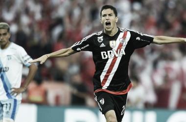 Grito de campeón de Nacho Fernández. FOTO: Getty Images.