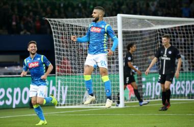 Champions League - Di Maria riacciuffa il Napoli: 2-2 al Parco dei Principi