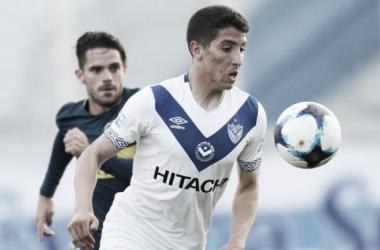 Con sus grandes actuaciones, Santi es observado por algunos clubes del Viejo Continente | Foto: Prensa Vélez Sarsfield