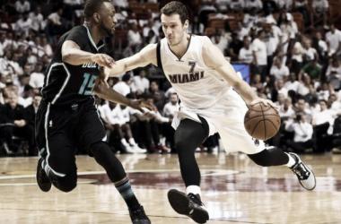 Goran Dragic stepped up for the Miami Heat (Photo: Steve Mitchell, USA Today Sports)