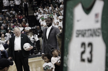 Green's jersey number retired at East Lansing