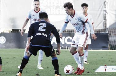 Dejan Drazic ante el Deportivo Fabril la pasada jornada | Foto: RC Celta
