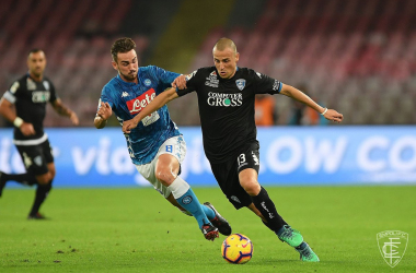 Serie A - Il Napoli demolisce l'Empoli: 5-1 al San Paolo